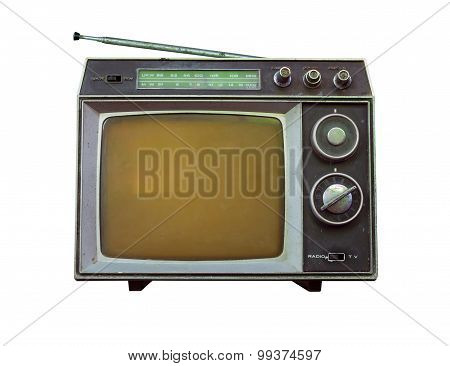 Old Tv And Radio.