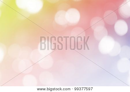 Dream color light background