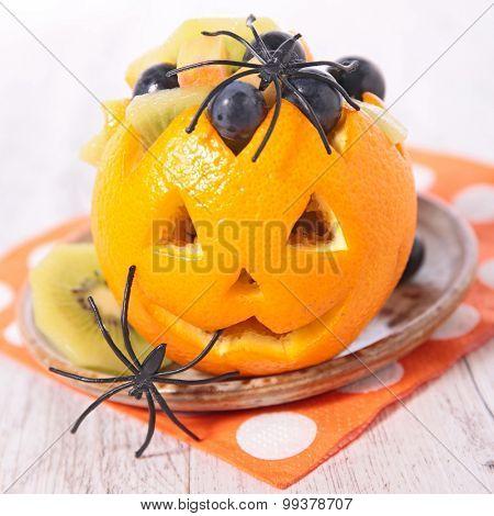 fruit salad for halloween