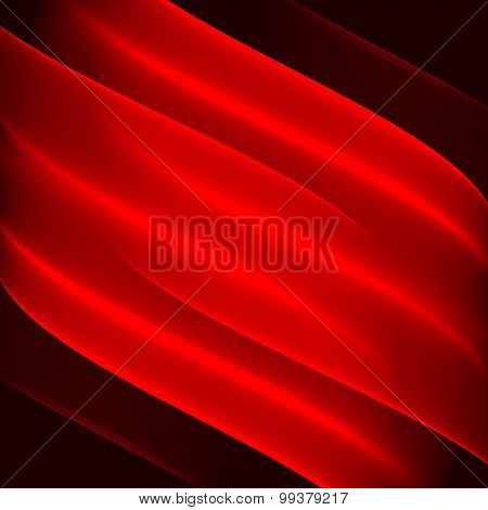 Abstract background pattern. Bright red diagonal lines on the dark red background. Red flag abstract