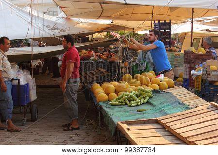 Turkish produce market