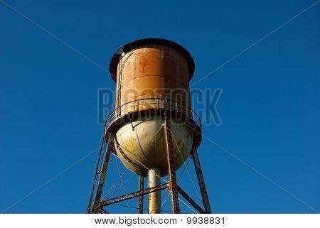 Torre de água no sítio histórico