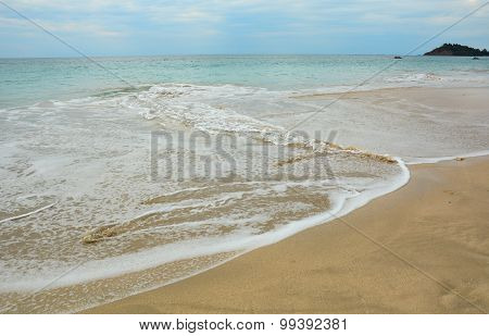 Beautiful Beach With Sunny Day