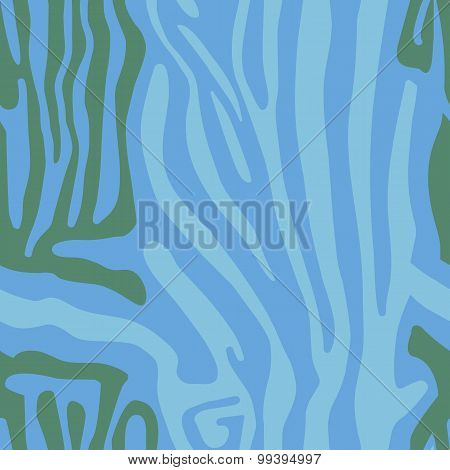 Seamless pattern with colored Zebra skin