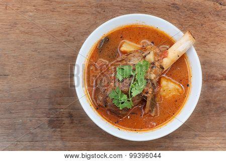 Lamb Knuckle Soup