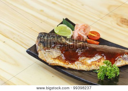 Traditional Japanese Food, Saba Teriyaki