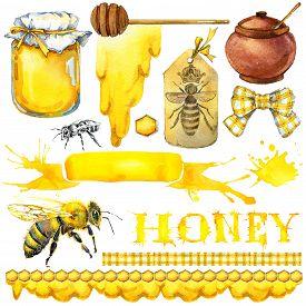 pic of honeycomb  - Honey - JPG