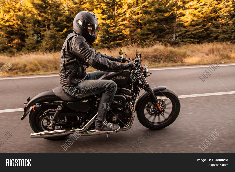 ROUSINOV - SEPTEMBER 29: Harley- Image & Photo | Bigstock