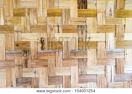 Abstract Bamboo weave sheets for Textures background