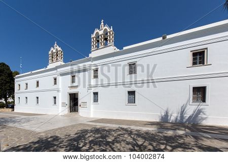Church of Panagia Ekatontapiliani in Parikia, Paros island, Cyclades
