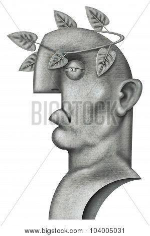 Roman Emperor Bust