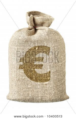 Money-bag With Euro Symbol