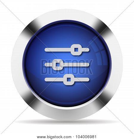 Horizontal Adjustment Button
