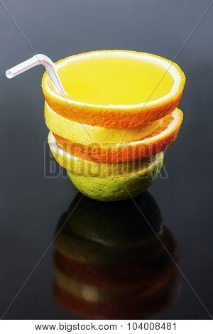 Multifruit Juice, Lime, Lemon, Orange