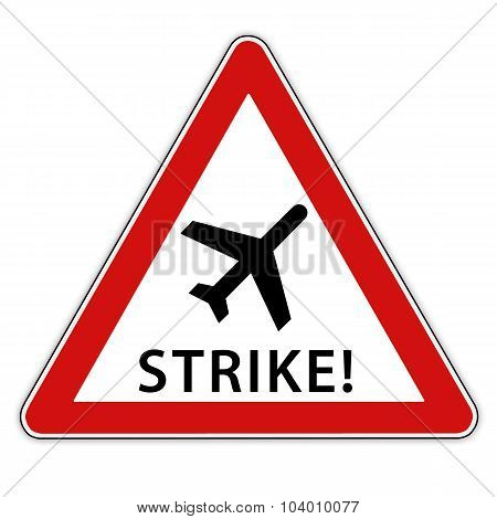 Strike at the airport
