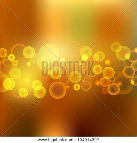 Abstract Blurred Background. Banner Design. Stock Vector