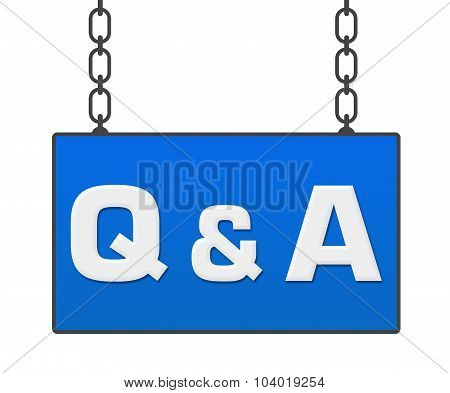 Q And A Signboard