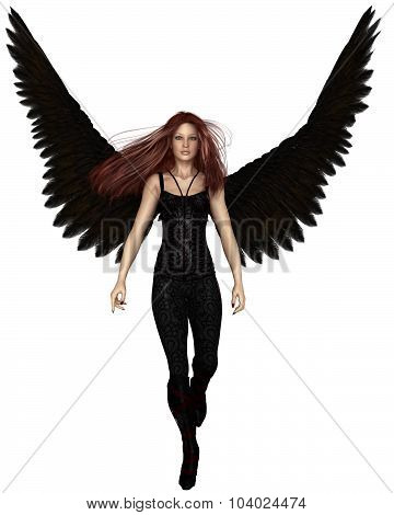 Female Urban Guardian Angel, Walking