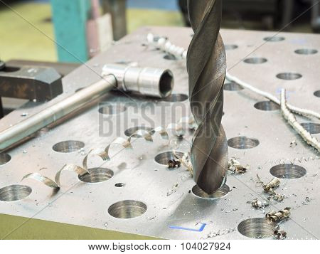 Drilling Steel Plate