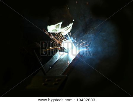 Welding Of Metal