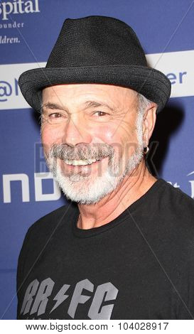 MOORPARK, CA - OCT 5:  Danny Seraphine arrives at the 8th Annual Medlock/Krieger Invitational Golf Concert at the Moorpark Country Club in Moorepark, CA on October 5, 2015.