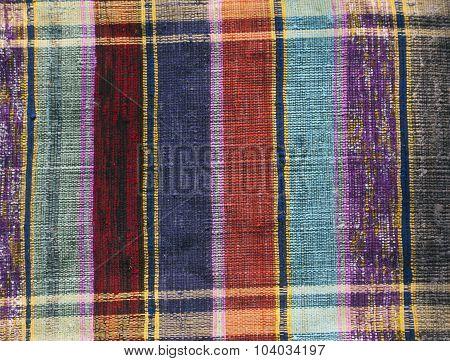 Old Color Handmade Textile Carpet