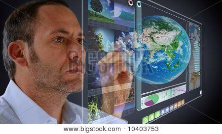 Futuristic Display 3D