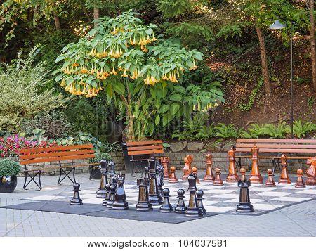 Outdoor Chessboard