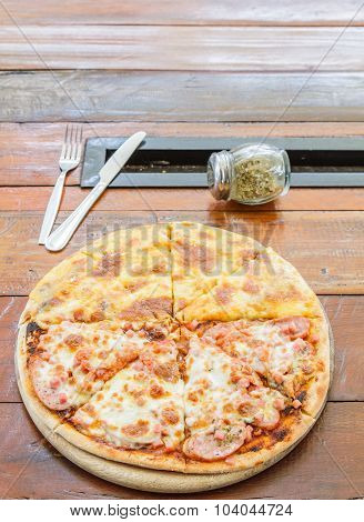 Pizza Meat Lover And Cheese