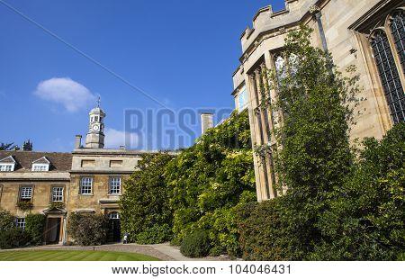 Christ's College In Cambridge