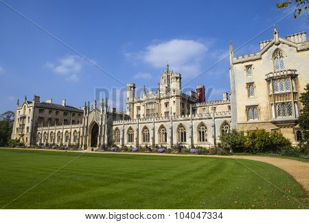 St. John's College In Cambridge