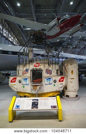 Virgin Atlantic Flyer At Duxford Museum