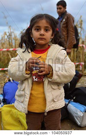 Refugees In Babska (serbian - Croatina Border)