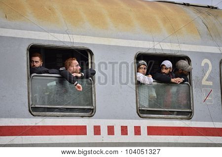 Refugees In Tovarnik (Serbian - Croatina Border)