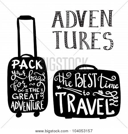 Travel Inspiration Quotes On Case Silhouette
