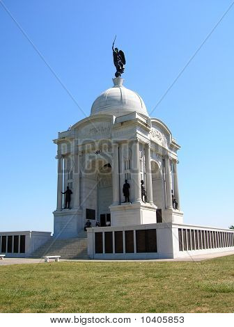 Pennsylvania Monument at Gettysburg Memorial Park
