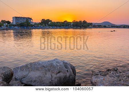 Faliraki Sunset Rhodes