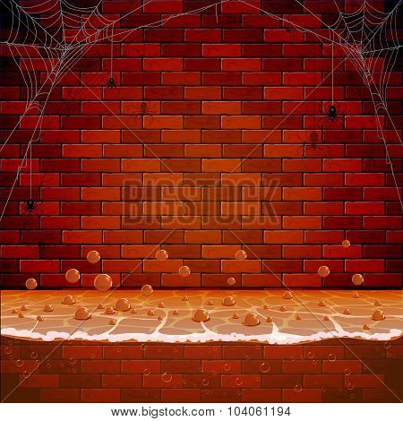 Brick Wall In The Sewers