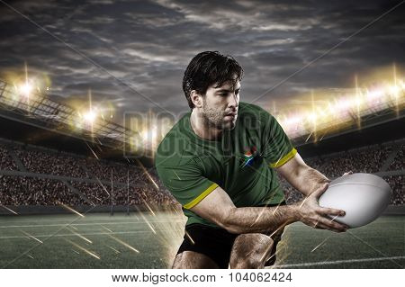 South African Rugby Player