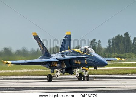 Blue Angel Landing