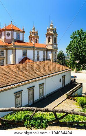 Bom Jesus do Monte, a sanctuary in Tenoes, Braga, Portugal