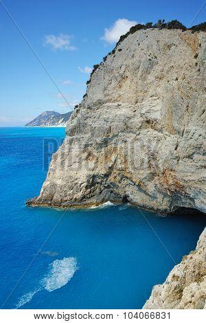 Rocks near Porto Katsiki Beach, Lefkada, Ionian Islands