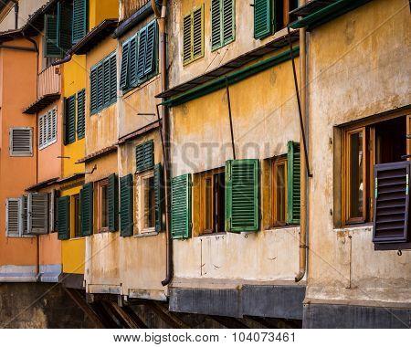 Close-up Ponte Vecchio