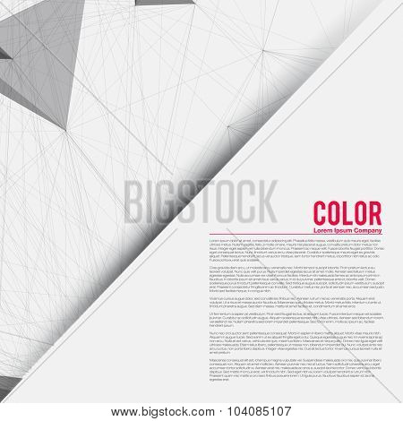 Abstract Presentation Template for Business | Vector Background