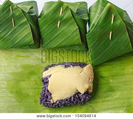 Purple Custard Dessert
