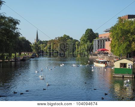 River Avon In Stratford Upon Avon