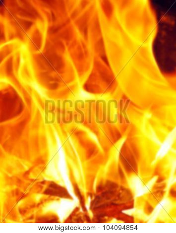 Flame Or Fire Background