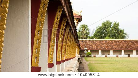 Balcony Of Pha That Luang