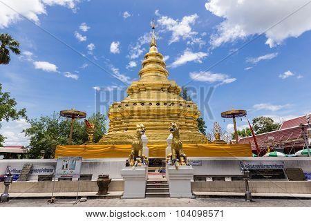 Wat Phra That Si Jom Thong