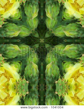 Cactus Blossom Cross